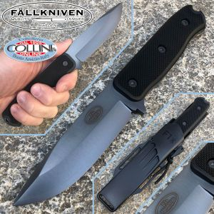 Fallkniven - F1xb Pilot Knife black - SanMai CoS Steel - knife