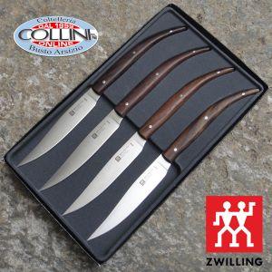 Zwilling - 4 Piece Steak Set - Palisander handle