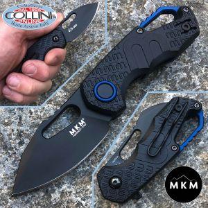 MKM - Isonzo black clip point knife by Vox - MK-FX03-3PBK - knife