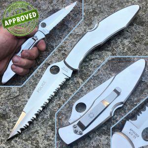 Spyderco - Police knife Steel C07S - ATS-55 steel - USED - knife