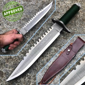Hollywood Collectibles Group - Rambo I - USED - First Blood with John Rambo Signature - knife