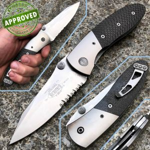 Microtech - Lightfoot Linerlock knife - Titanium and Carbon Fiber - Private Collection - knife