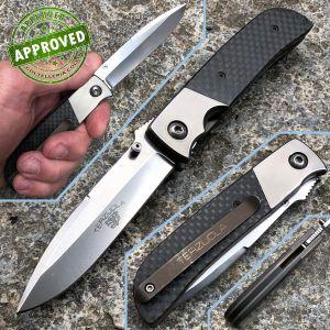 Robert Terzuola - TTF-5 knife - Titanium and Carbon Fiber - PRIVATE COLLECTION - custom knife
