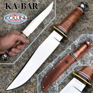 Ka-Bar - Bowie Knife 1236 leather sheath - knife
