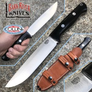 Bark River - Bravo 1.5 Field knife - CPM 3V - Black Canvas - BA07124LT - knife