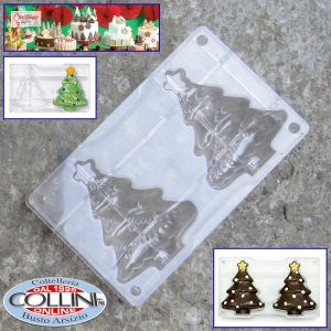 Decora - Christmas Three chocolate mold