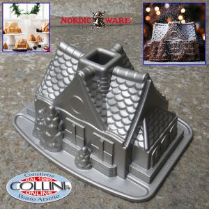 Nordic Ware - Gingerbread House Bundt Pan