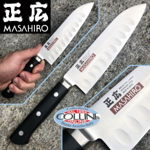 Masahiro - Santoku Olivato 175mm - MV-Honyaki M-14993 - Japanese kitchen knife