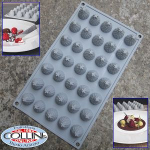 Pavoni - Silicone Gourmand Raspberries 35 servings