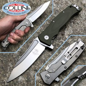 Maserin - Reactor knife - Green G10 - Design by Nicolai Lilin - 681 / G10V - knife