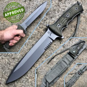 """Chris Reeve - Green Beret Combat 7 """"knife - PRIVATE COLLECTION - 2012 - knife"""