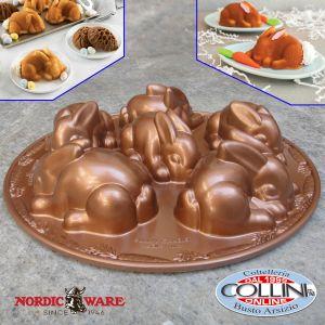 Nordic Ware - Baby Bunny Cakelet Pan