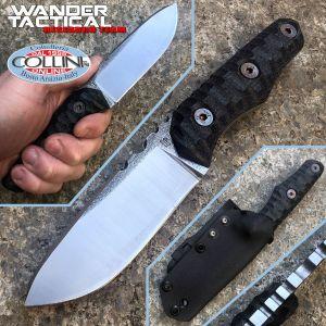 Wander Tactical - Scrambler knife - SanMai V-Toku2 & Black Micarta - custom