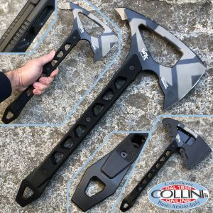 Wildrock Gear - Strikeback Tomahawk Camo - D2 steel - ax