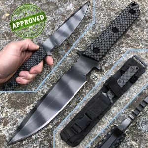 Strider Knives - MT Tactical knife Fixed Blade Black G10 - PRIVATE COLLECTION - knife