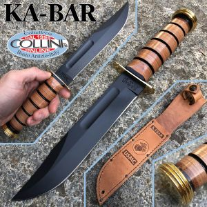 Ka-Bar - USMC Commemorative Presentation Grade Fighting Knife - 1215 - knife