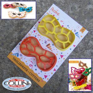 Decora - Cookie cutter mask - Carnival