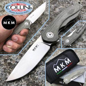 MKM & Viper - Timavo Flipper by Vox - Green Micarta - VP02-GC - knife