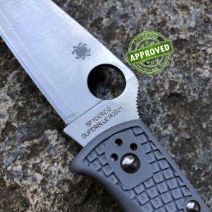 Spyderco - Endura 4 Flat Ground - Super Blue Sprint Run - PRIVATE COLLECTION - C10FPGYE - Knife