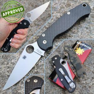 Spyderco - Paramilitary 2 - Carbon Fiber Flytanium - PRIVATE COLLECTION - C81GPCMO2 - knife
