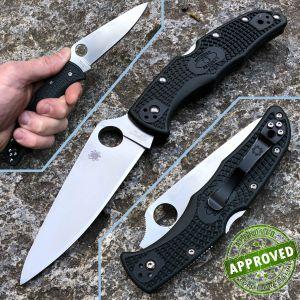 Spyderco - Endura knife 4 Gray ZDP Plain - USED - C10PGRE knife