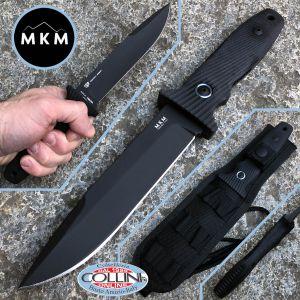 MKM & Fox - JOUF Black Cerakote by Bob Terzuola - G10 - MK FX02-C - knife