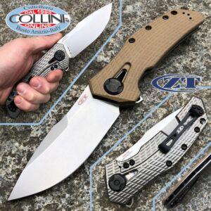Zero Tolerance - Coyote Flipper Frame Lock - Titanium - ZT0308 - Knife
