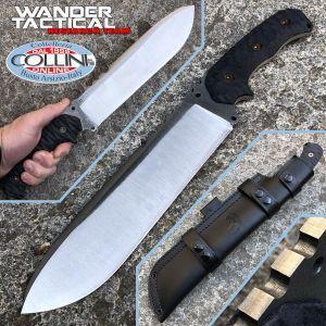 Wander Tactical - Godfather knife - SanMai V-Toku2 & Black Micarta - Unique piece