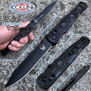 Benchmade - SOCP Tactical Folder - Axis Plain - 391BK - Knife
