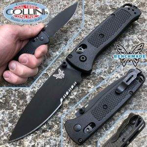 Benchmade - Bugout Axis - Black Serrated - 535SBK-2 - Knife