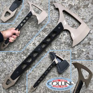 Wildrock Gear - Strikeback Tomahawk Desert Camo - D2 steel - ax