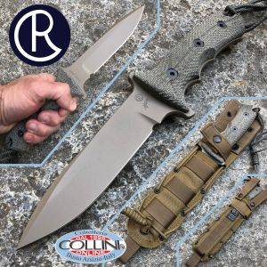 """Chris Reeve - Green Beret 5.5 """"knife - Dark Earth by W. Harsey - knife"""