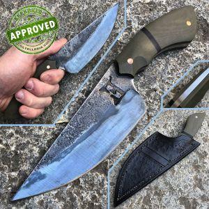 John David Evers - custom fixed blade - PRIVATE COLLECTION - unique piece