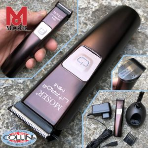 Moser - Li + Pro 2 Mini - 1588-0050 - Professional Rechargeable Beard Rule