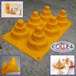 Birkmann - Happy Birthday silicone mold - 6 cavities Birthday
