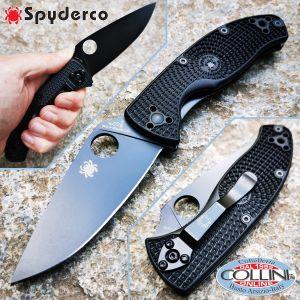 Spyderco - Tenacious Lightweight - Black Plain - C122PBBK - knife