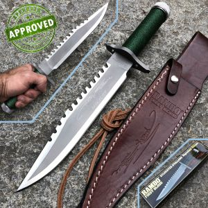 Hollywood Collectibles Group - Rambo I - PRIVATE COLLECTION - First Blood Sylvester Stallone Signature - knife