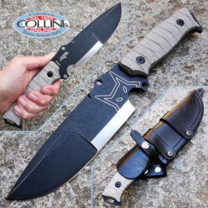 Fox - Sherpa Bushman - D2 Green Micarta - FX-610 - Knife