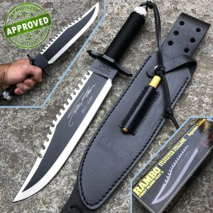 Hollywood Collectibles Group - Rambo II - PRIVATE COLLECTION - First Blood Sylvester Stallone Signature - knife