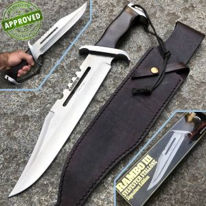 Hollywood Collectibles Group - Rambo III knife - PRIVATE COLLECTION - Sylvester Stallone Limited Edition - Knife