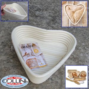 Birkmann - Heart  leavening basket