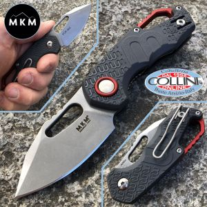 MKM & Fox - Isonzo Clip Gray by Vox - MK-FX03-3PGY - knife