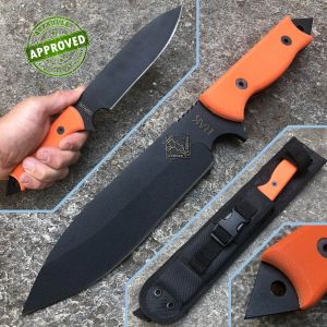 Ontario Knife Company - Series RAK Assault Knife G10 Orange - PRIVATE COLLECTION - knife