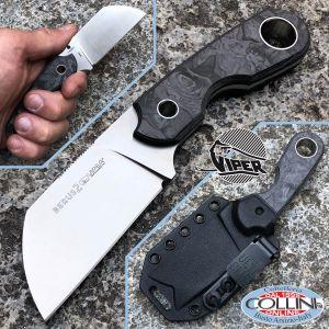 Viper - Berus 2 by T. Rumici - Marbled Carbon Fiber - VT4014FCR - knife