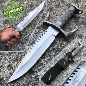 Buck - Buckmaster 184 Camel Survival Knife - 1987 - PRIVATE COLLECTION - vintage knife