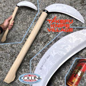 Takefu Village - Kama - Hand Forged Damascus Steel Sickle - Sickle