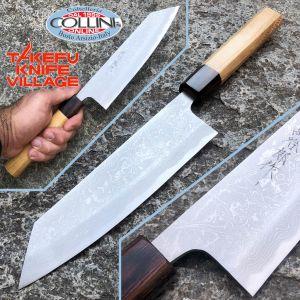 Takefu Village - Funayuki Knife 180mm - SanMai Shirogami 2 - by Mr. Masanobu Okada - kitchen knife