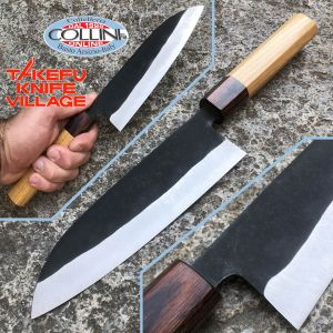 Takefu Village - Bunka knife - Aogami 3-layered steel - 16.5 cm - Japanese craftsmanship