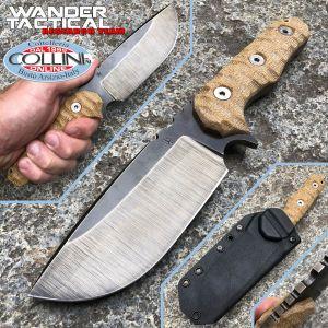 Wander Tactical - Lynx knife - Row & Micarta Desert - custom knife