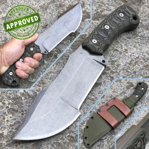 Simone Tonolli - Raw Tracker - One of a Kind - Private Collection - Handmade Knife